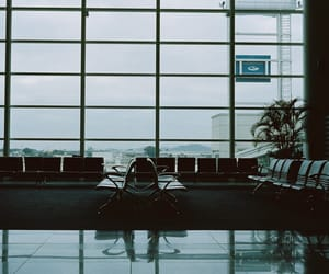 aesthetic, airport, and architecture image