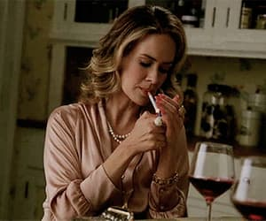gif, sarah paulson, and billie dean howard image