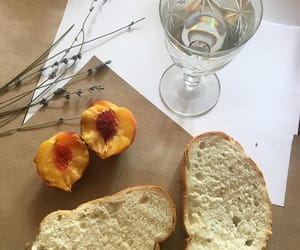 blogger, bread, and breakfast image