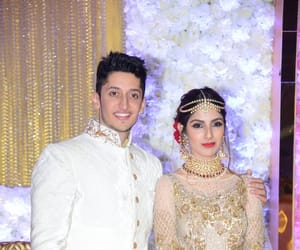 wedding reception, mumbai., and azhar morani image