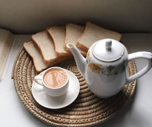 breakfast, coffee, and drinks image