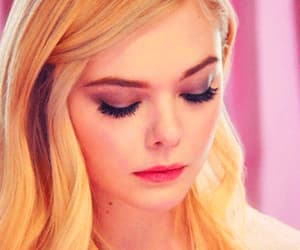 beauty, Elle Fanning, and blonde image