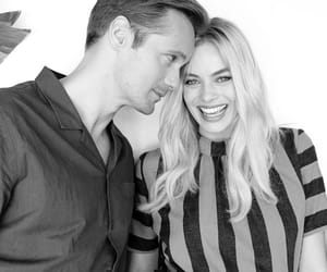 alexander skarsgard and margot robbie image