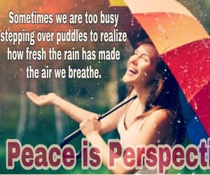 rain, words, and uplifting words image