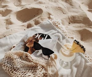 aesthetic, gold, and summer image