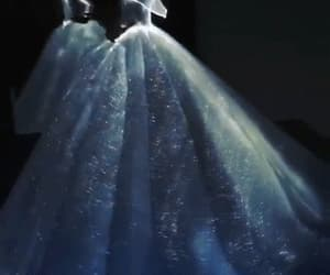 amazing, ball gown, and blue image