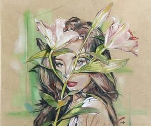 arte, coreia do sul, and makeup image
