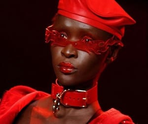 beauty, blackgirl, and model image
