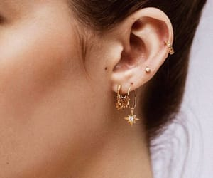 accessories, earrings, and girls image