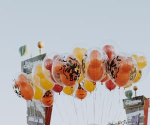balloons, disneyland, and photography image