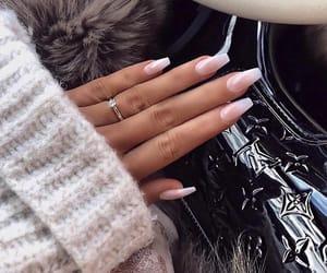 nails, car, and girl image