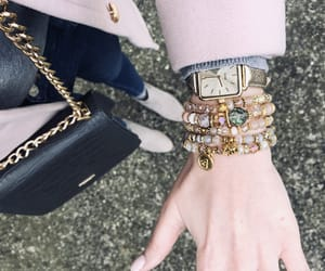 arm candy, nudes, and pink coat image