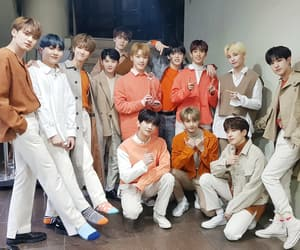 idol, boy group, and hansol vernon image