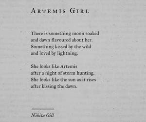 artemis, book, and girl power image