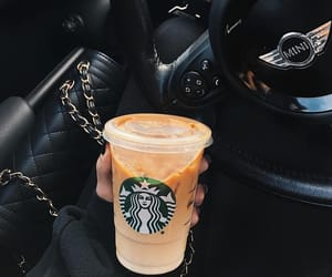 car, coffee, and cool image