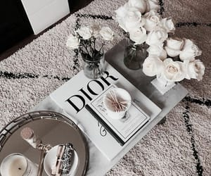 books, coffe, and decor image