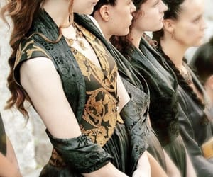costumes, margery tyrell, and hair image