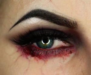 haloween, lenacooper, and makeup image