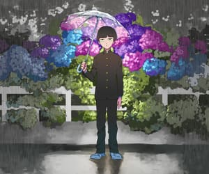 anime, colors, and flowers image