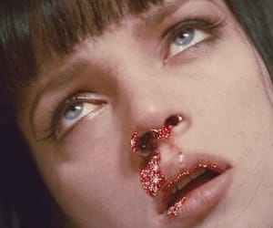 cocaine, mia wallace, and drugs image