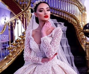 bride, weddingdress, and dreamwedding image