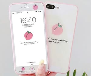 iphone, pink, and iphone case image