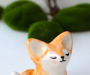Ceramic, fox, and pretty image