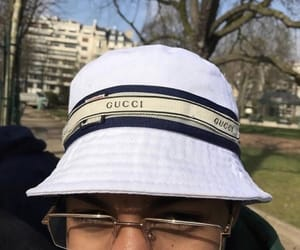 girls, gucci, and hats image
