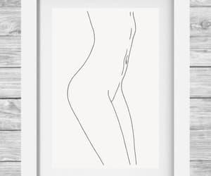 aesthetic, art print, and decor image