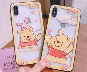 adorable, phone, and winnie the pooh image