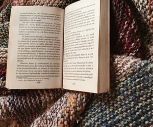 blanket, mood, and book image