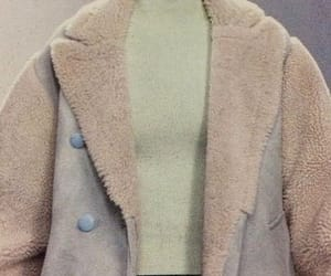 clothes, vintage style, and winter coat image