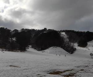 cloudy, Skiing, and outdoors image