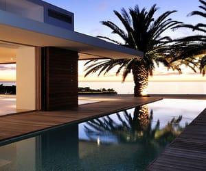 house, pool, and luxury image