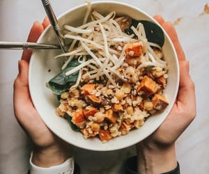 dinner, fit, and fitness image