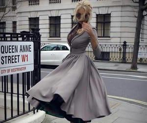 diva, moda, and dress image