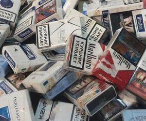 aesthetic, marlboro, and smoking cigarette image
