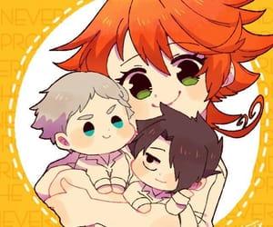 anime, chibi, and emma image