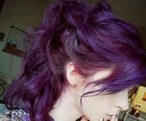 color hair, hairstyle, and fantasy hair image