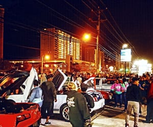 automobiles, ocean city, and cars image