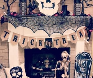 decor and Halloween image