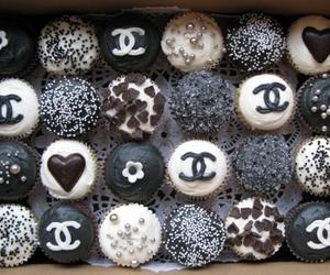 chanel, cupcake, and food image