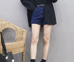 fashion, korean fashion, and moda image