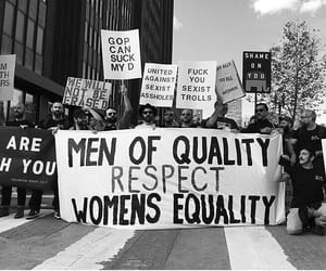 quotes, equality, and black&white image