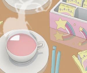 aesthetic, tea, and anime image