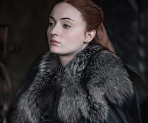 stark, sophie turner, and game of thrones image