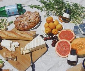 artisan, bread, and cantaloupe image