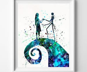 etsy, watercolor painting, and baby gift image