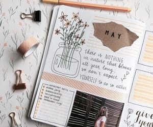 bullet journal, ideas, and inspiration image