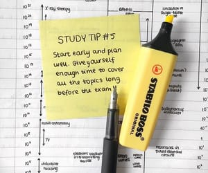 study, tips, and study motivation image